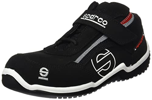 ffc031aad4d Sparco Men's Safety Shoes Black 11: Amazon.co.uk: Shoes & Bags