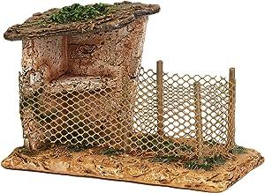 Fontanini - Bird Shelter, for 5