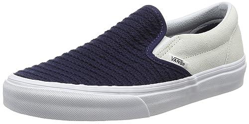 bd693c69fa Vans Unisex Adults  Classic Slip-on Low-Top Sneakers  Amazon.co.uk ...