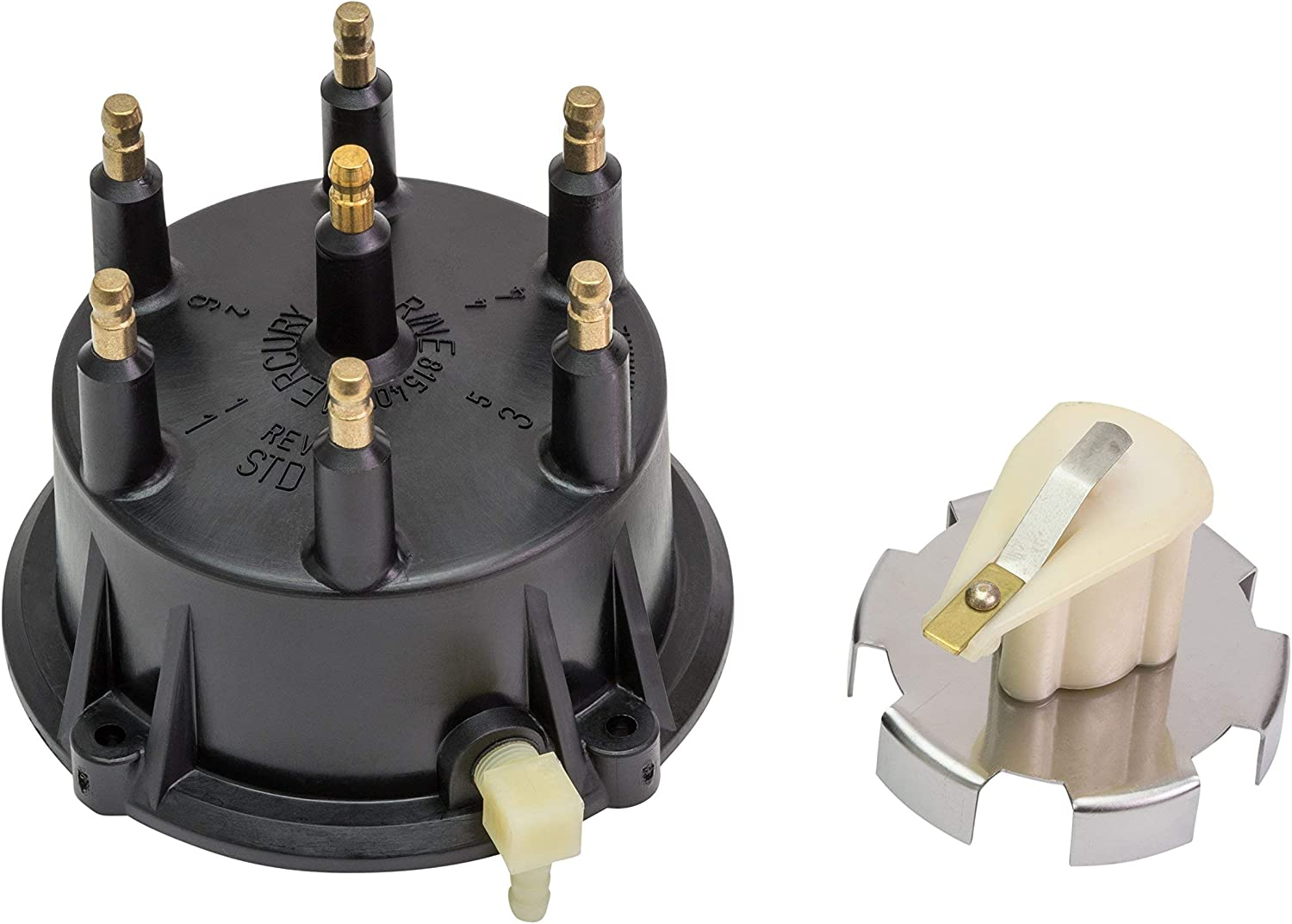 Thunderbolt for V-6 and V-8 MerCruiser Stern Drive and Inboard Engines Made by General Motors with Thunderbolt IV and V Ignition System Quicksilver Ignition Coil 8M0079202