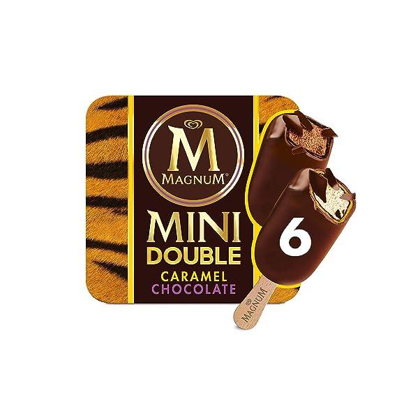 Magnum Helado Bombón Chocolate Doble Caramelo, 6 UDS 300 gr