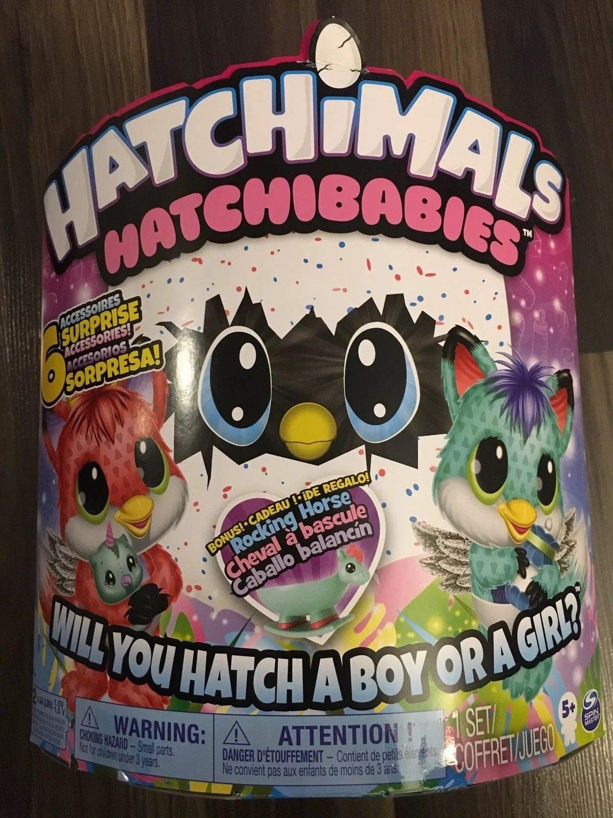 Hatchibabies FoxFin - Hatching Egg with Interactive Pet Baby (Styles May Vary) Ages 5 and Up - HOT Toy 2018 by Hatchimals (Image #5)