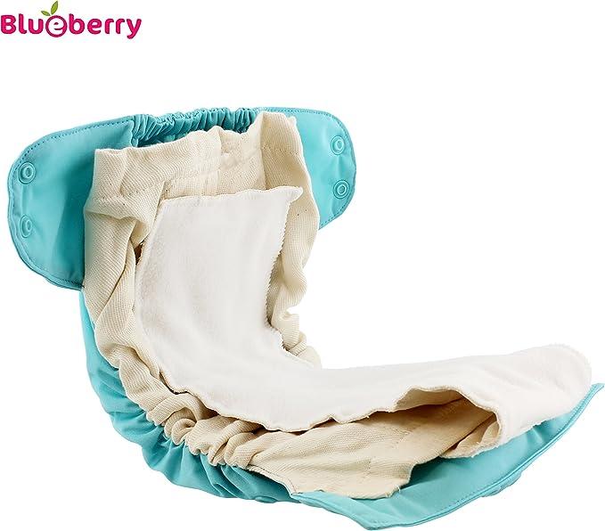 /Butterfly Garden / /Plastique Pantalon pour couches couvre-couche 5,5/–16/kg AIO convient Prefolds plastique Couche/ /Taille Unique Blueberry Simplex One size pression Gravier /