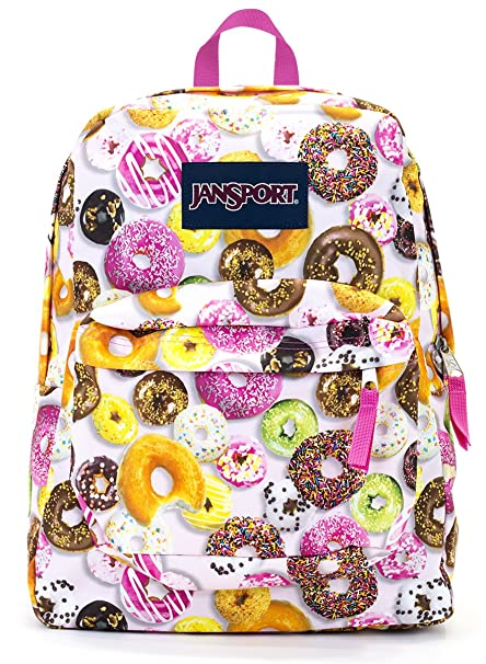 cd373b217c93 Image Unavailable. Image not available for. Color  Jansport Superbreak  Backpack (multi donuts)