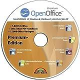 Open Office Premium Edition CD DVD 100% kompatibel zu Microsoft® Word® und Excel® -für Windows 10-8-7-Vista-XP
