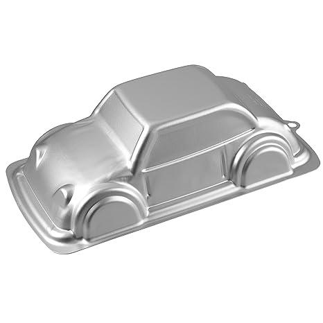 Wilton 2105-2043 - Molde para hornear en 3D, figura coche