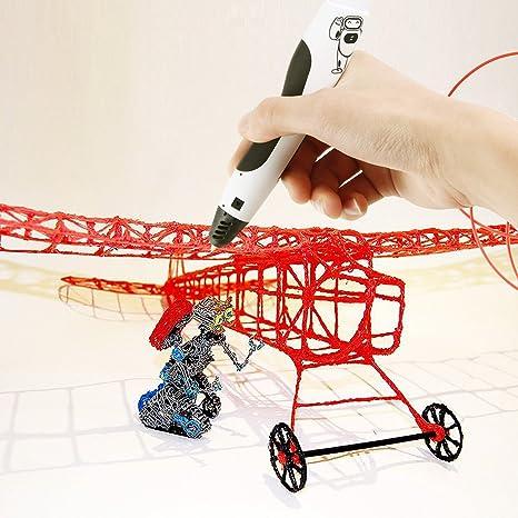 Amzdeal - Filamentos PLA para impresora 3D. 5 metros por color ...