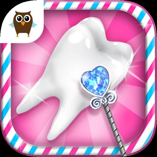 Sweet Baby Girl Tooth Fairy - Little Fairyland Helper & Teeth Cleaning Fun (Free Teeth)