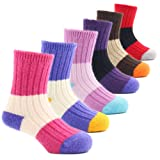 Amazon Price History for:Girls Thick Wool Socks Kids Winter Seamless Socks