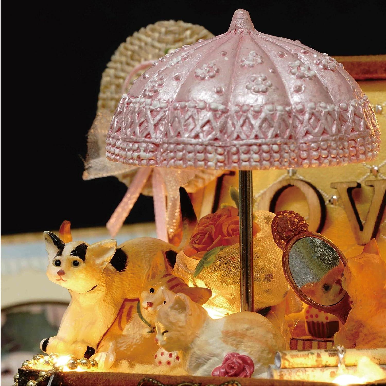 Candy Cat Model /& all furniture dolls shown DIY Wooden Dollhouse Handcraft Miniature Kit