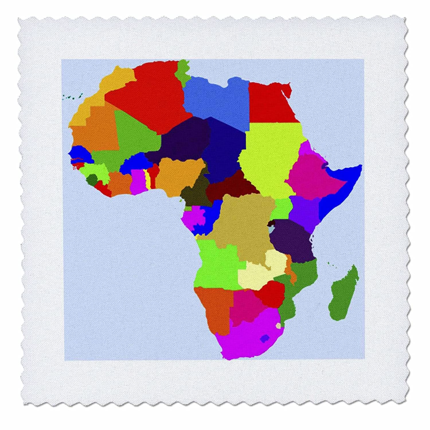 Amazon.com: 3dRose qs_50263_3 World Map in Vivid Color Quilt ... on map print, map in europe, map art projects, map with mountains, map duvet cover, map quotes, map party decor, map mobile, map project ideas, map jewelry, map with states, map recipe, map fabric, map bedding, map ne usa, map with compass, map design, map quip, map skirt, map crib set,