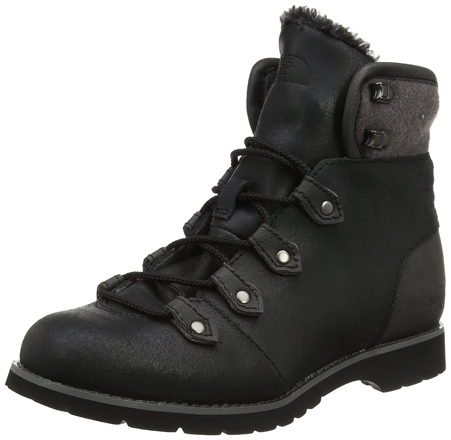 TALLA 37.5 EU. The North Face W Ballard BF Boot, Botas de Senderismo para Mujer