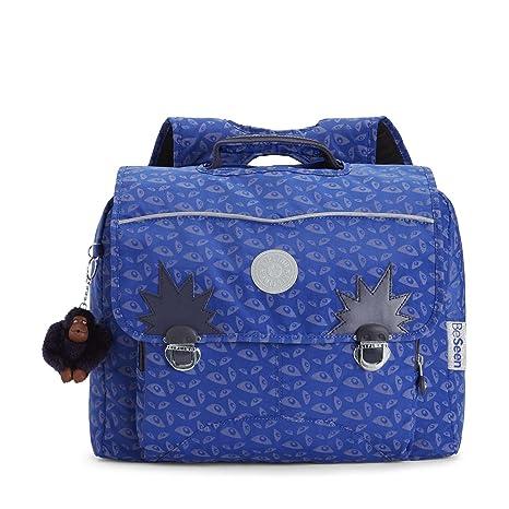 Kipling - Iniko Bat Eye - Schultasche Blau
