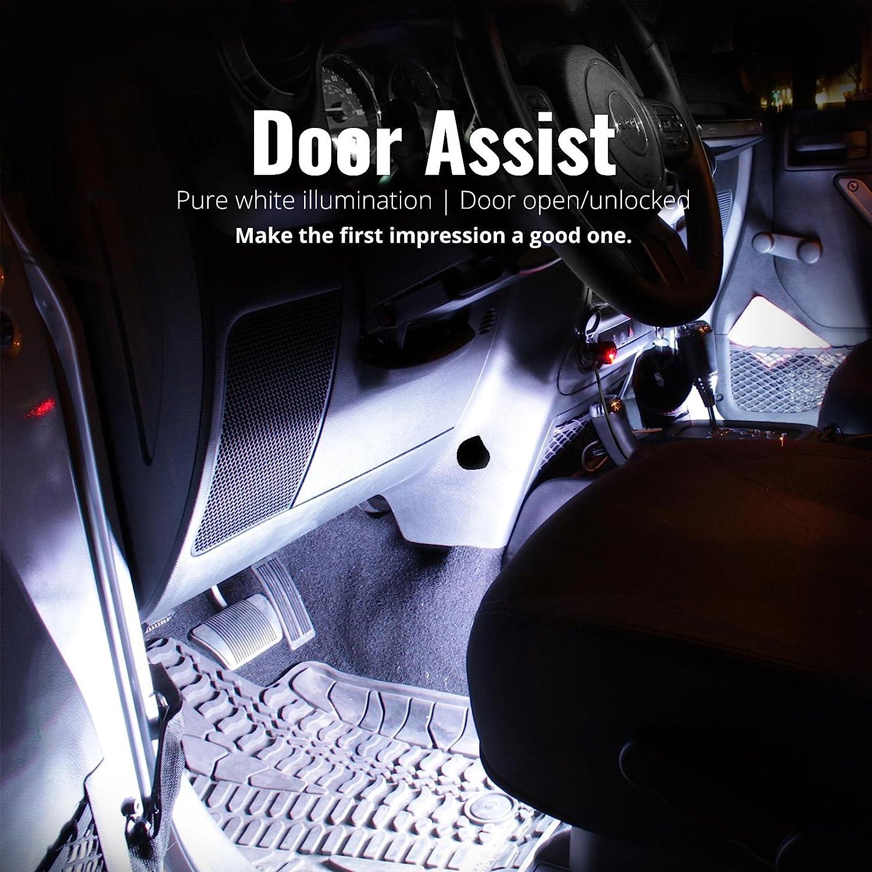 Opt7 Aura Smart Color Led Strip Interior Lighting Kit 4 99 Honda Pport Fuse Box Items Automotive