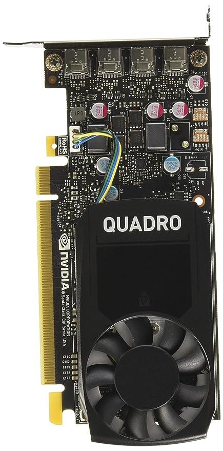 PNY Quadro P620 - Tarjeta gráfica (2 GB, GDDR5, Perfil bajo ...