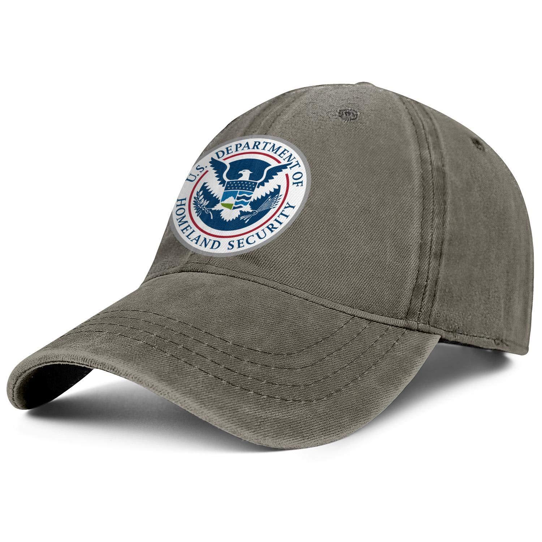 VOVBDED Men Women Hat Circle Snapback Hats Designer Denim Cap Funny Caps