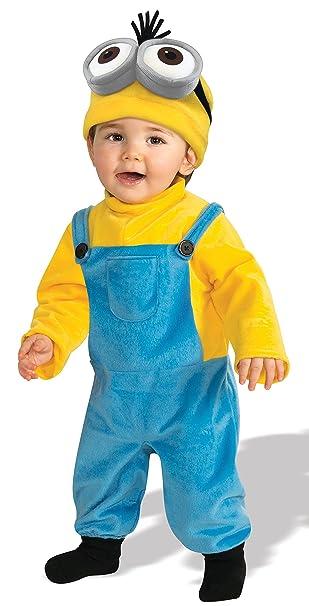 Rubieu0027s Costume CO Baby Boysu0027 Minion Kevin Romper Costume Yellow ...  sc 1 st  Amazon.com & Amazon.com: Rubieu0027s Costume CO Baby Boysu0027 Minion Kevin Romper ...