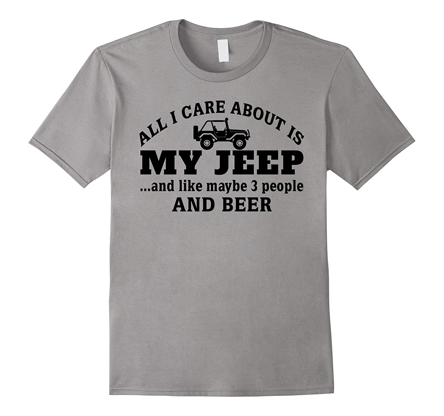 All I Care About My Jeep And Maybe Like 3 People And Beer-CD