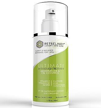 Retseliney Acne-Treatment Oil-Control Moisturizer Cream with 2% Salicylic  Acid and Vitamin