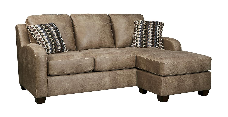 Amazon.com: Benchcraft - Alturo Contemporary Sofa Chaise Sleeper ...