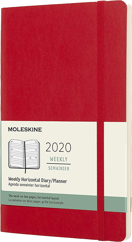 Amazon.com: Moleskine - Planificador semanal de 12 meses ...