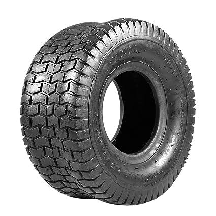 TOOGOO 15X6.00-6 Neumáticos para Césped para Cortacésped con ...