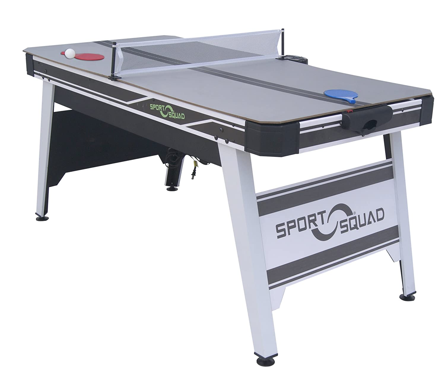 Sport Squad HX66 Air Powered Hockey 66 with Table Tennis Conversion Top SSA1006