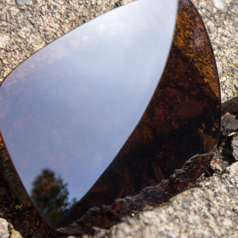 Revant Verres de Rechange pour Oakley M Frame Sweep - Compatibles avec les Lunettes de Soleil Oakley M Frame Sweep Bronze Mirrorshield - Polarisés Elite