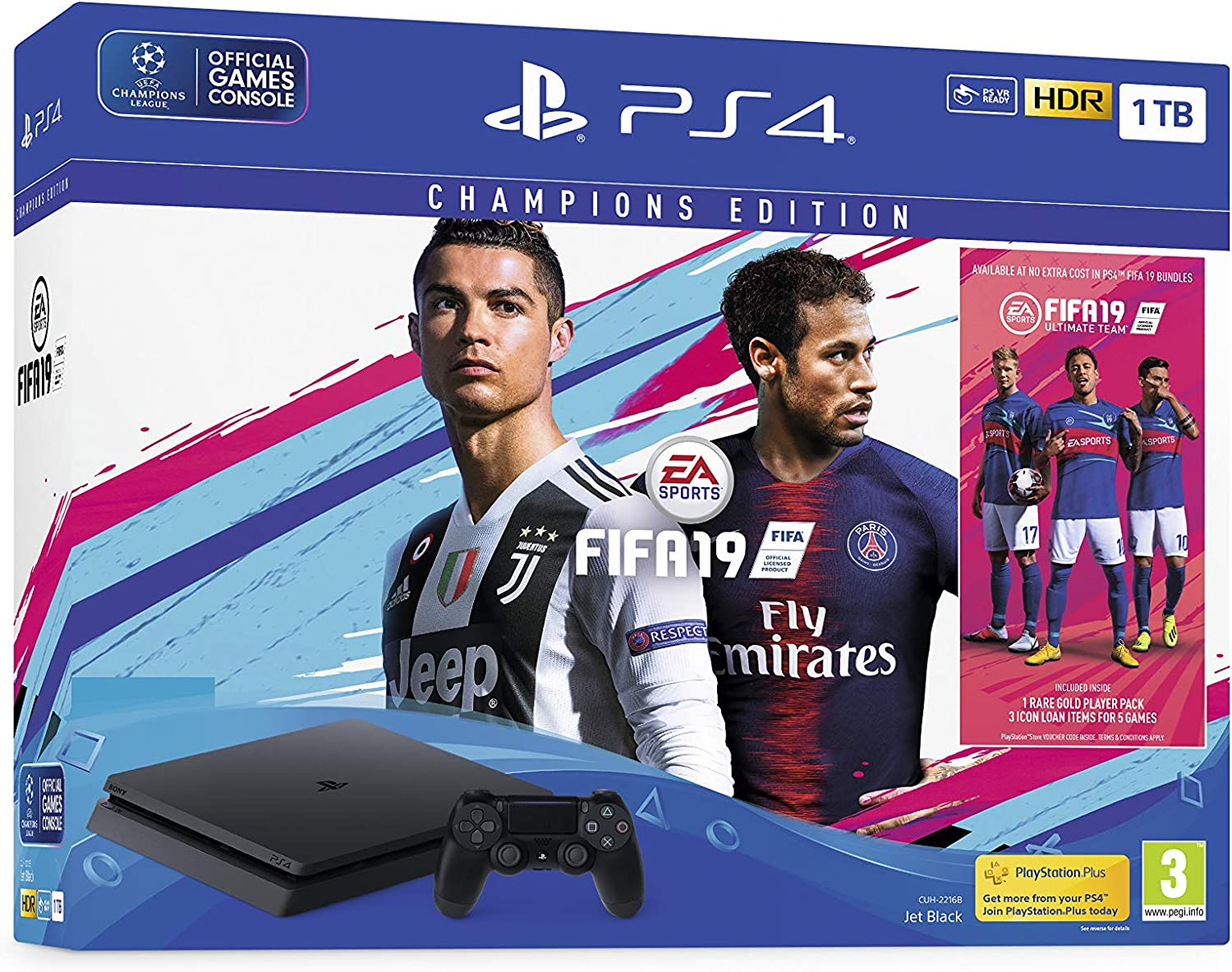 FIFA 19 Champions Edition 1TB PS4 - Early Access Bundle ...