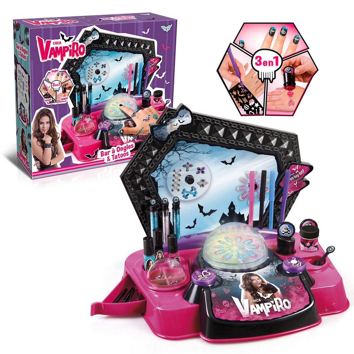 cheaper quality products watch Canal Toys - CT45007 - Maquillage - Chica Vampiro - Bar à ...
