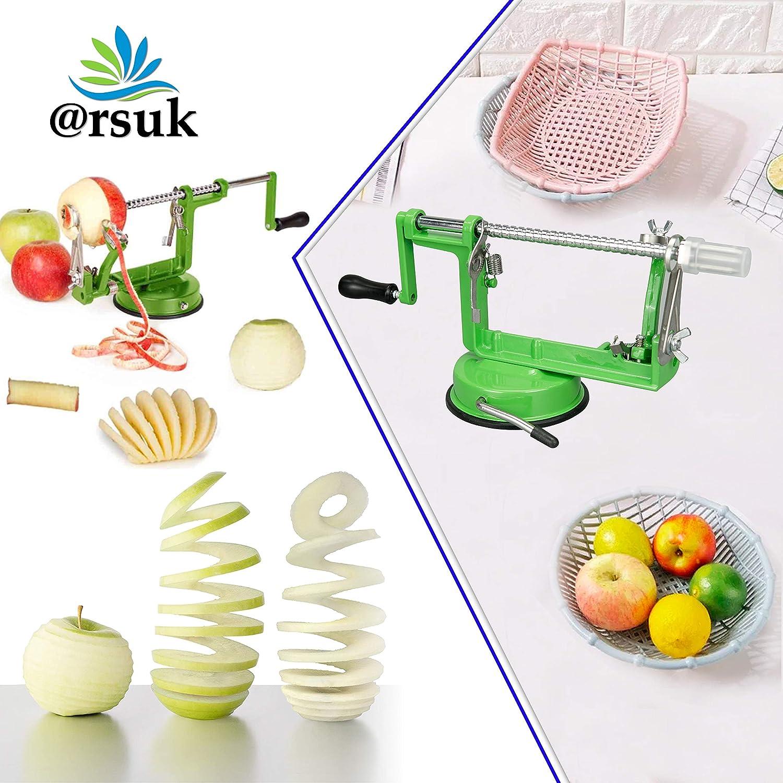 ARSUK Apple Peeler, Vegetable, Fruit Peeler, Pear Potato Slicer ...