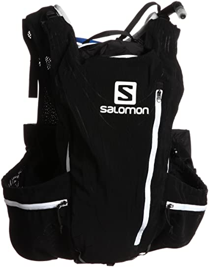 c7e18e790 Amazon.com: Salomon Unisex Advanced Skin 12 Set Backpack,Black,M/L ...
