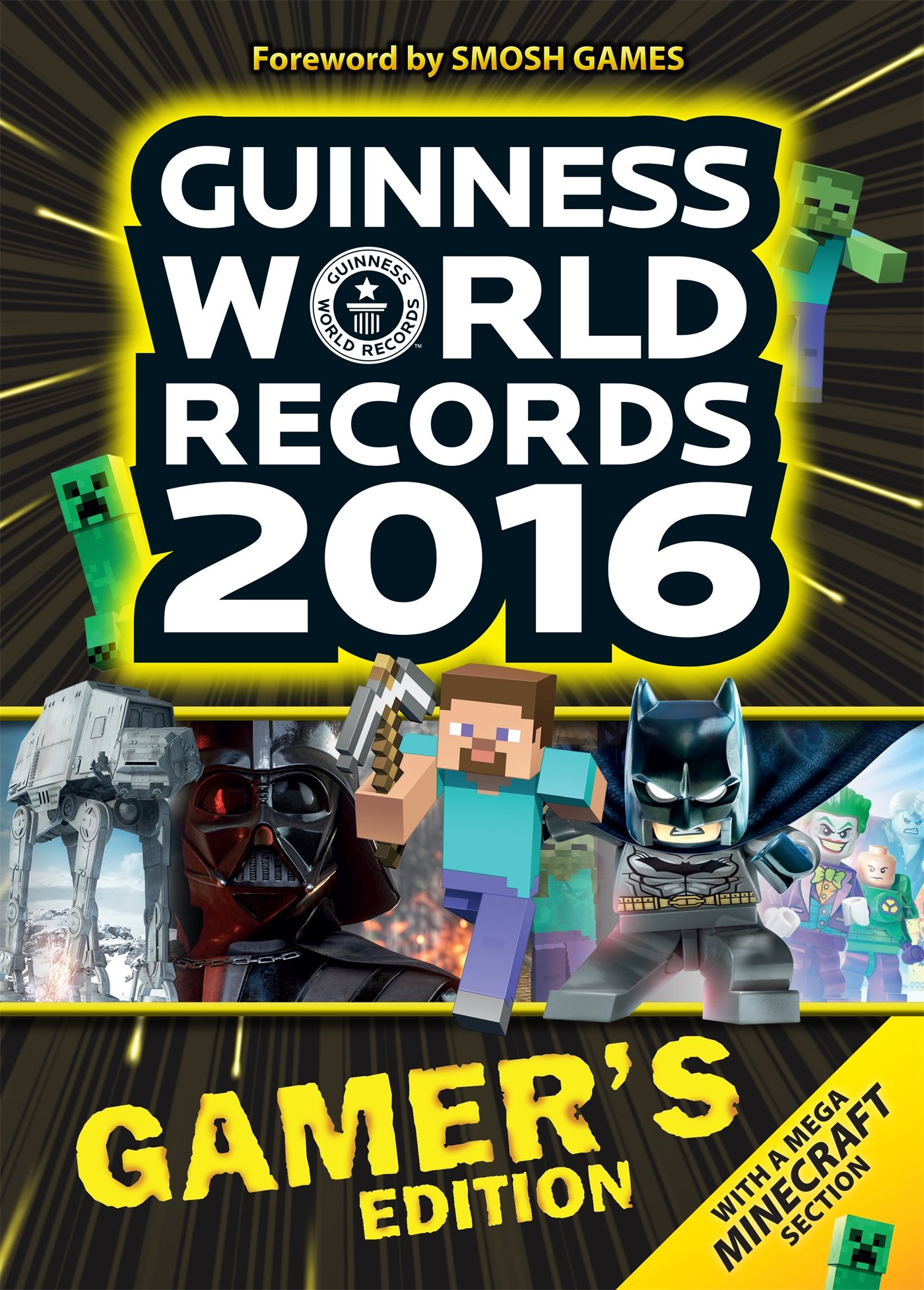 Guinness World Records 2016 Gamer's Edition book cover