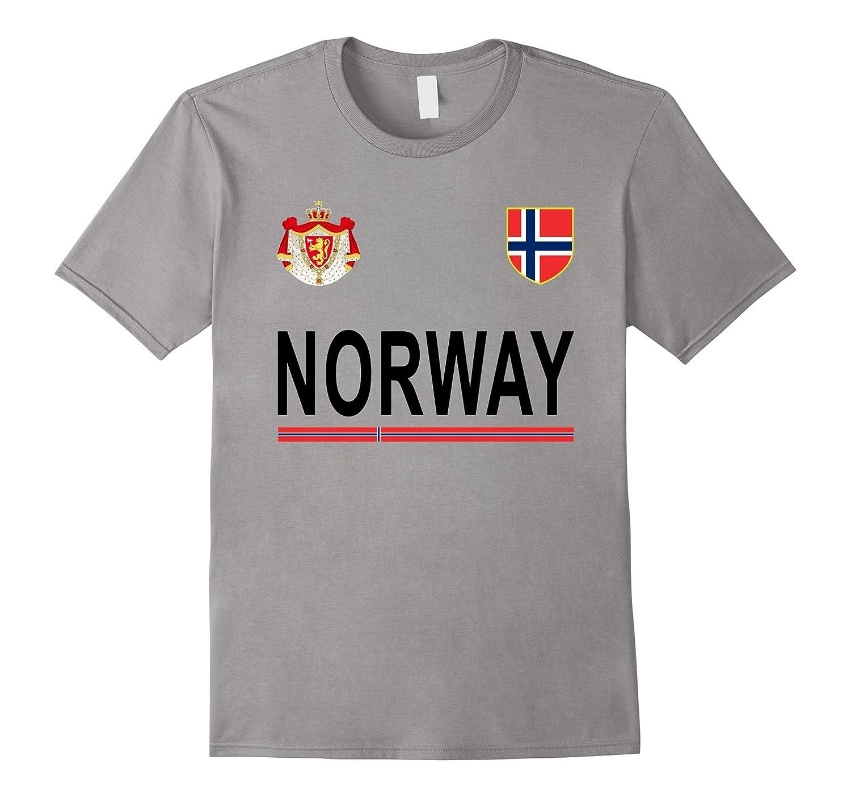 NORWAY Soccer T-Shirt - Norwegian Retro Football Jersey 2017-TH