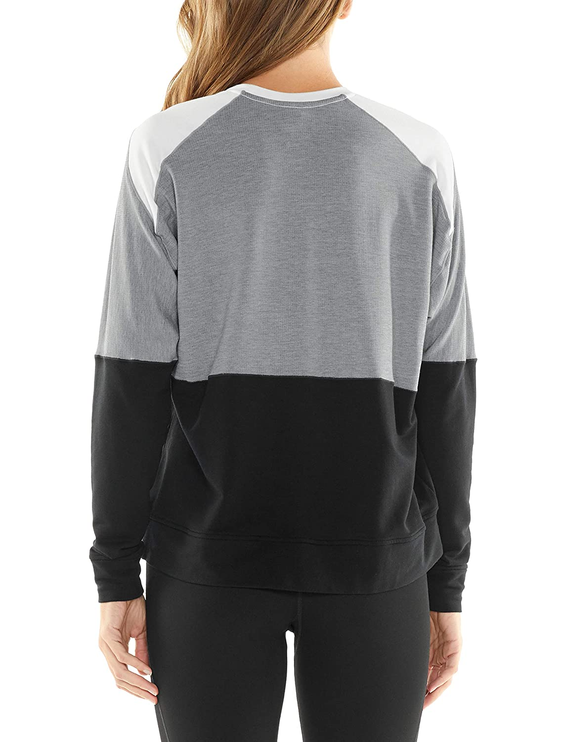 2fc5d137433a87 Amazon.com: Icebreaker Merino Women's Momentum Ls Crewe: Sports & Outdoors