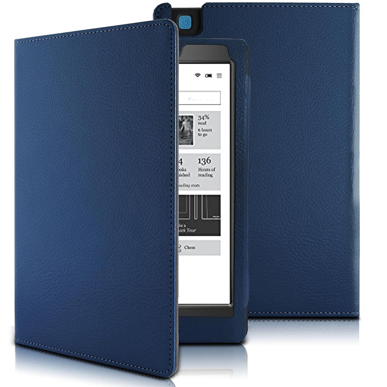 Kobo Aura One 7.8 Funda Case, Infiland Folio PU Cuero Cascara ...