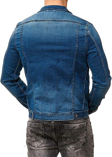 02b424a7f364 engbers Original Herren Jeansjacke Denim Jeans Jacken Freizeitjacke ...