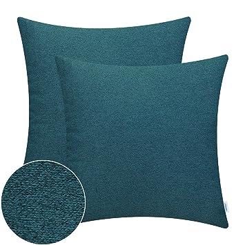 Amazon.com: CaliTime - Juego de 2 fundas de almohada de alta ...