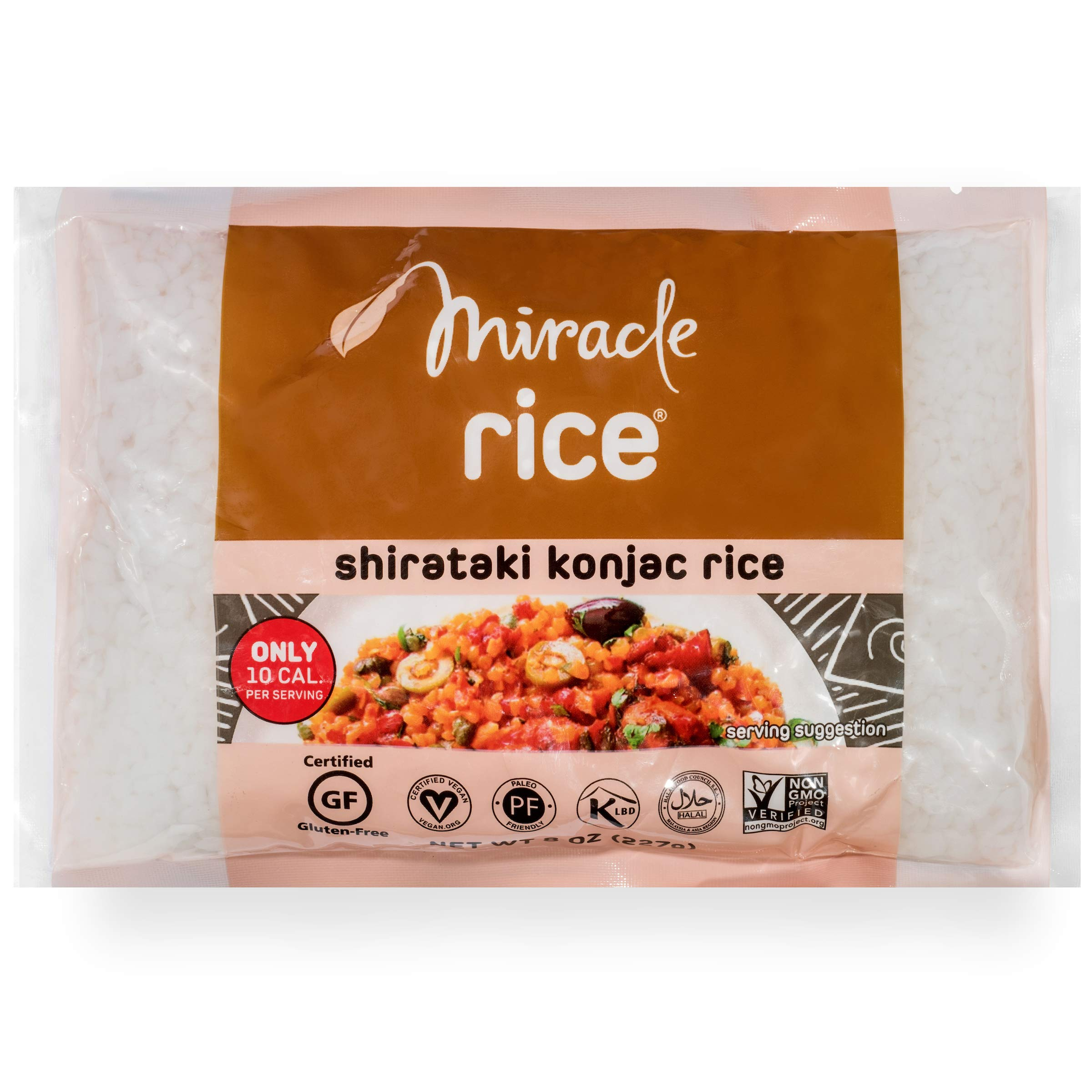 Amazon.com : Miracle Noodle Zero Carb, Gluten Free Shirataki Rice  (Packaging May Vary), 8-Ounce, (Pack of 6) : Packaged Asian Dishes :  Grocery & Gourmet ...
