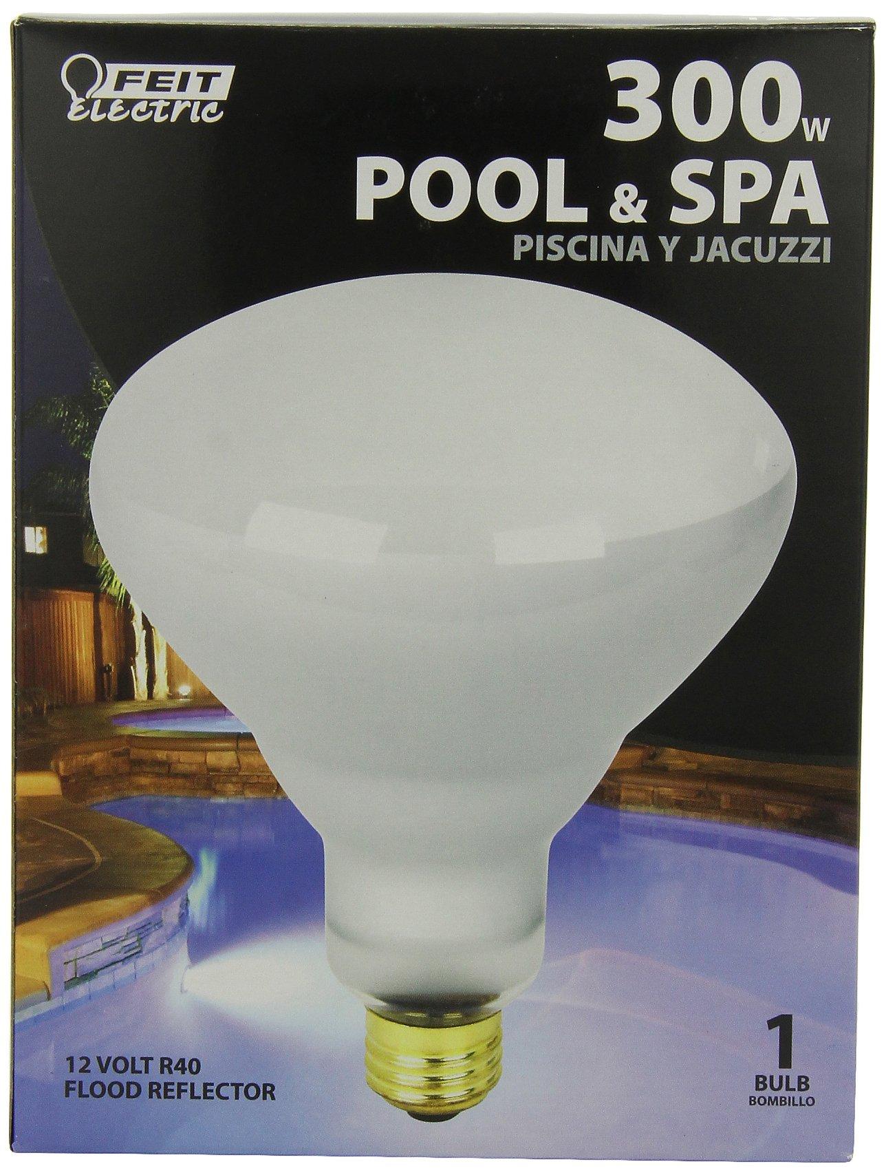 Feit Electric 300R/FL-12 300-Watt R40 12-Volt Pool/Spa Flood Reflector