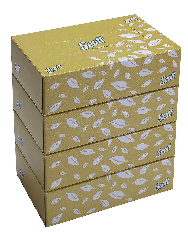 Facial Tissue Box – 4 Tissue Boxes x 100 Face Tissues