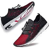 YHOON Men's Water Shoes - Sports Aqua Shoes Lightweight Outdoor Quick Drying