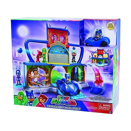 PJ Masks - Playset base secreta (Bandai 24561): Amazon.es: Juguetes y juegos