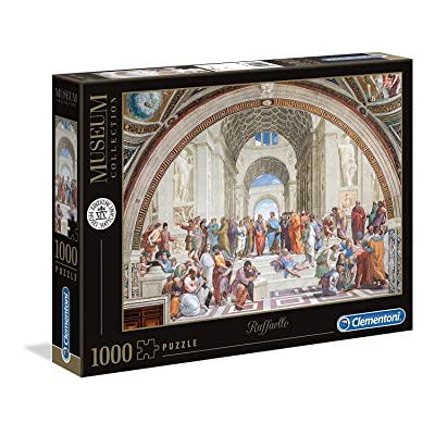 Clementoni 39483 39483-Vatican Jigsaw Puzzle The School of Athens 1000 Pieces, Multi-Coloured: Toys & Games