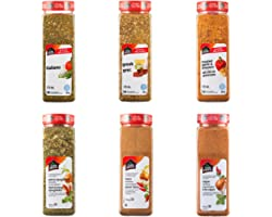 Club House, Quality Natural Herbs & Spices, Seasoning Pack, 6 Count