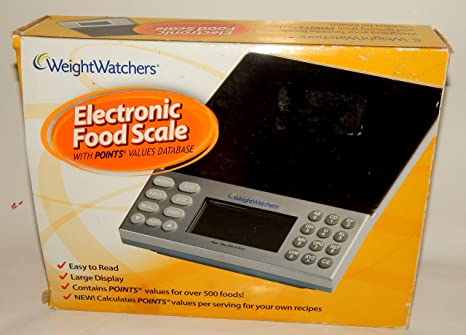 Amazon.com: Weight Watchers Báscula Electrónica De Alimentos ...