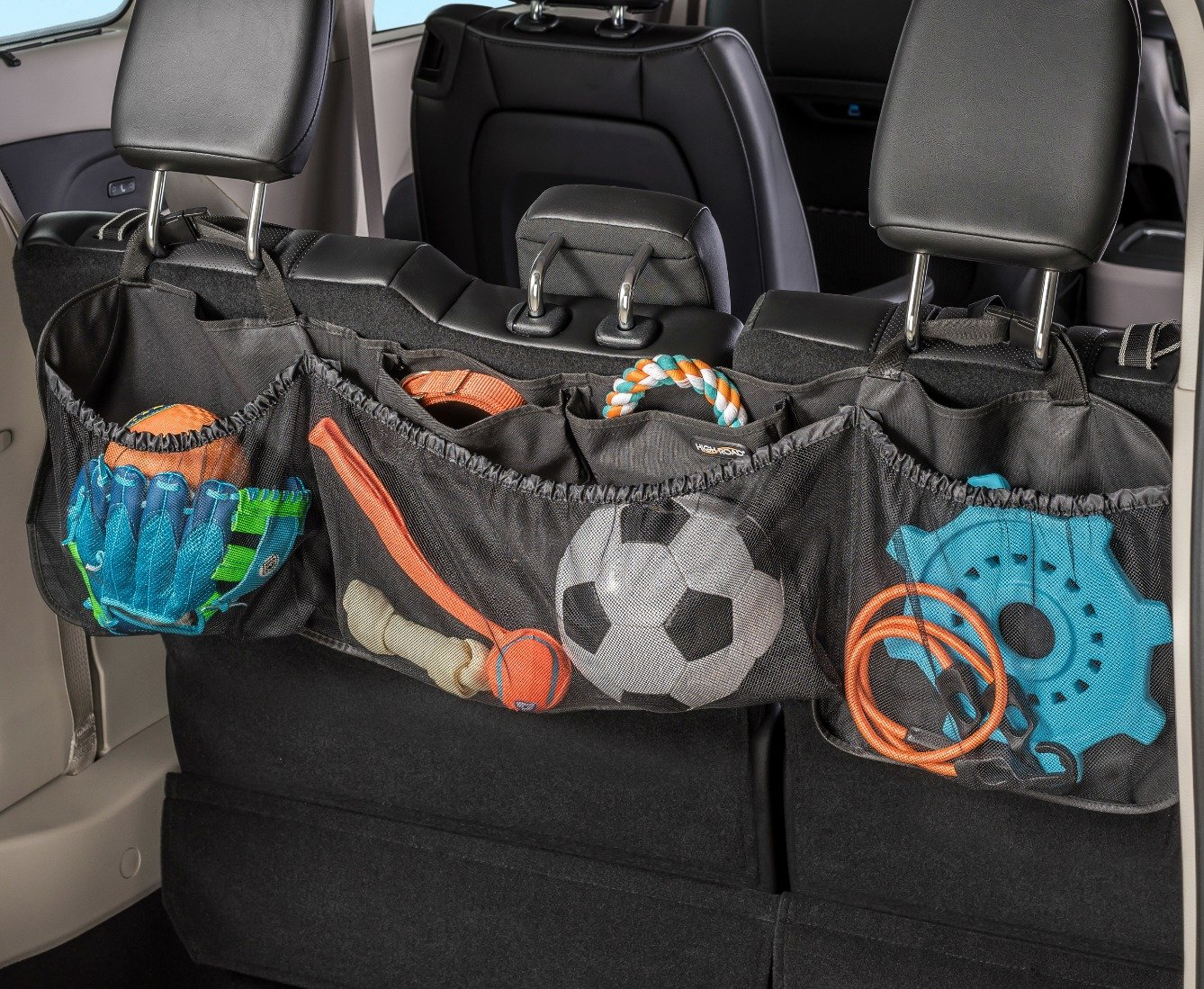 High Road Cargo Pack Car Seat Back Organizer High Road Organizers HR-5515-05