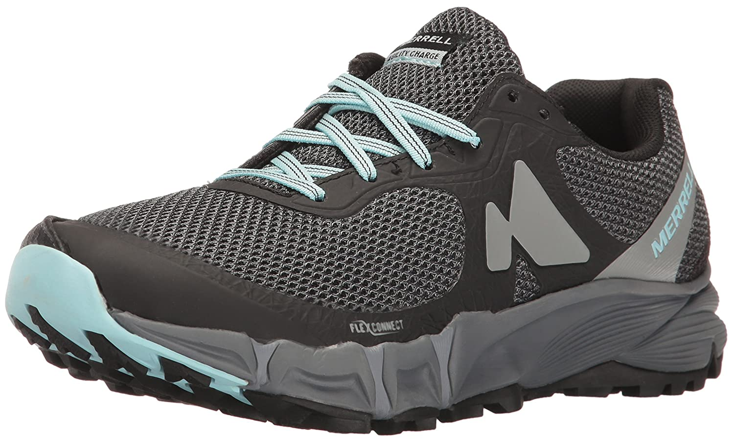 Merrell Women's Agility Charge Flex Trail Runner B01HHA1I56 5.5 B(M) US|Black