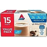 Atkins Protein-Rich Shake, Mocha Latte, Gluten Free, 15 Count