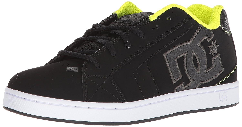 DC Men's Net Lace-Up Shoe, Wild Dove/Black, 6 US DC Men's Net Lace-Up Shoe DC Shoes NET SKATE SHOE-M